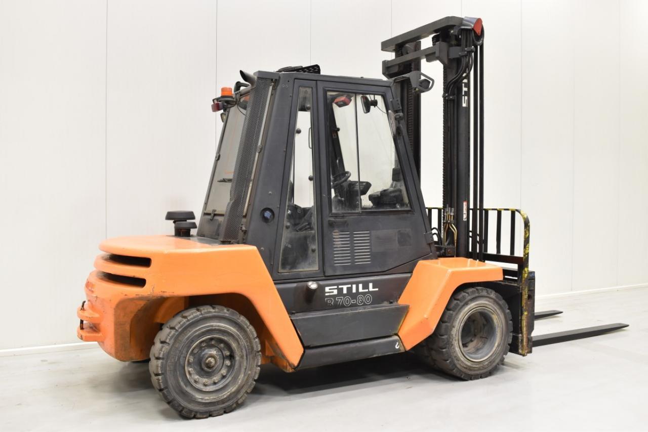 30481 STILL R 70-80 - Diesel, 2012, Kabina, BP+HSV