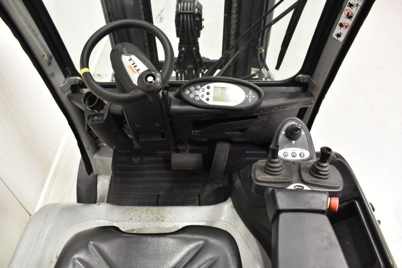 30517 STILL RX 60-25/600 - AKU, 2016, polokabina, Volný zdvih, Triplex