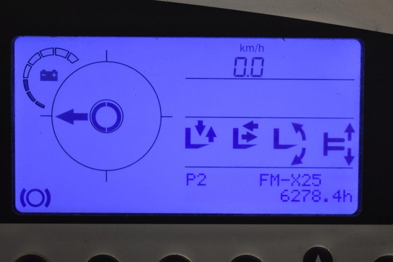 30522 STILL FM-X 25 - AKU, Retrak, 2012, BP, volný zdvih, Triplex, pouze 6278 mth