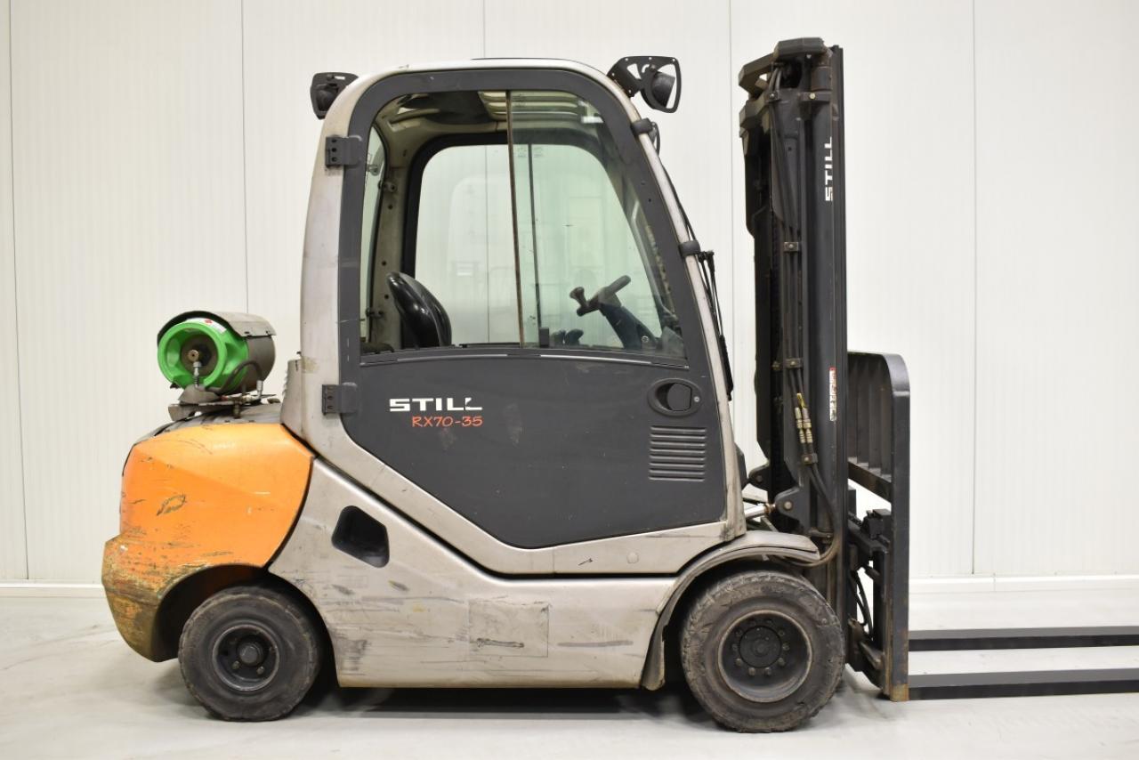 30540 STILL RX 70-35 T - LPG, 2013, Kabina, BP, volný zdvih, Triplex