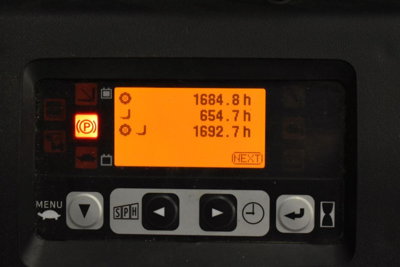 30600 TOYOTA 8FBET15 - AKU, 2013, polokabina, BP, volný zdvih, pouze 1692 mth