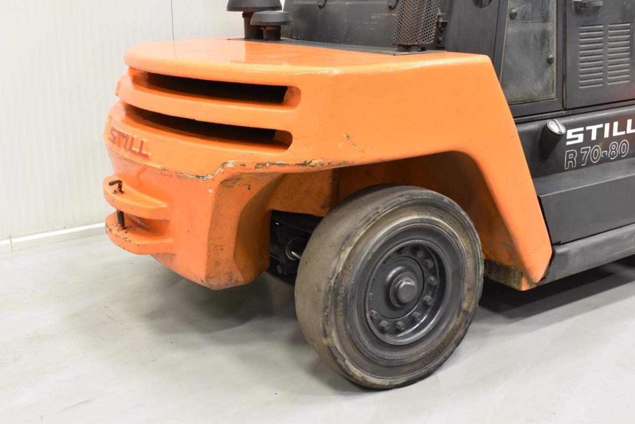 30624 STILL R 70-80 - Diesel, 2012, Kabina, BP+HSV