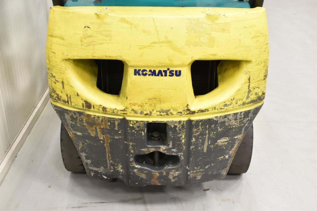 30667 KOMATSU FD 15 T-20R - Diesel, 2006, BP, volný zdvih, Triplex