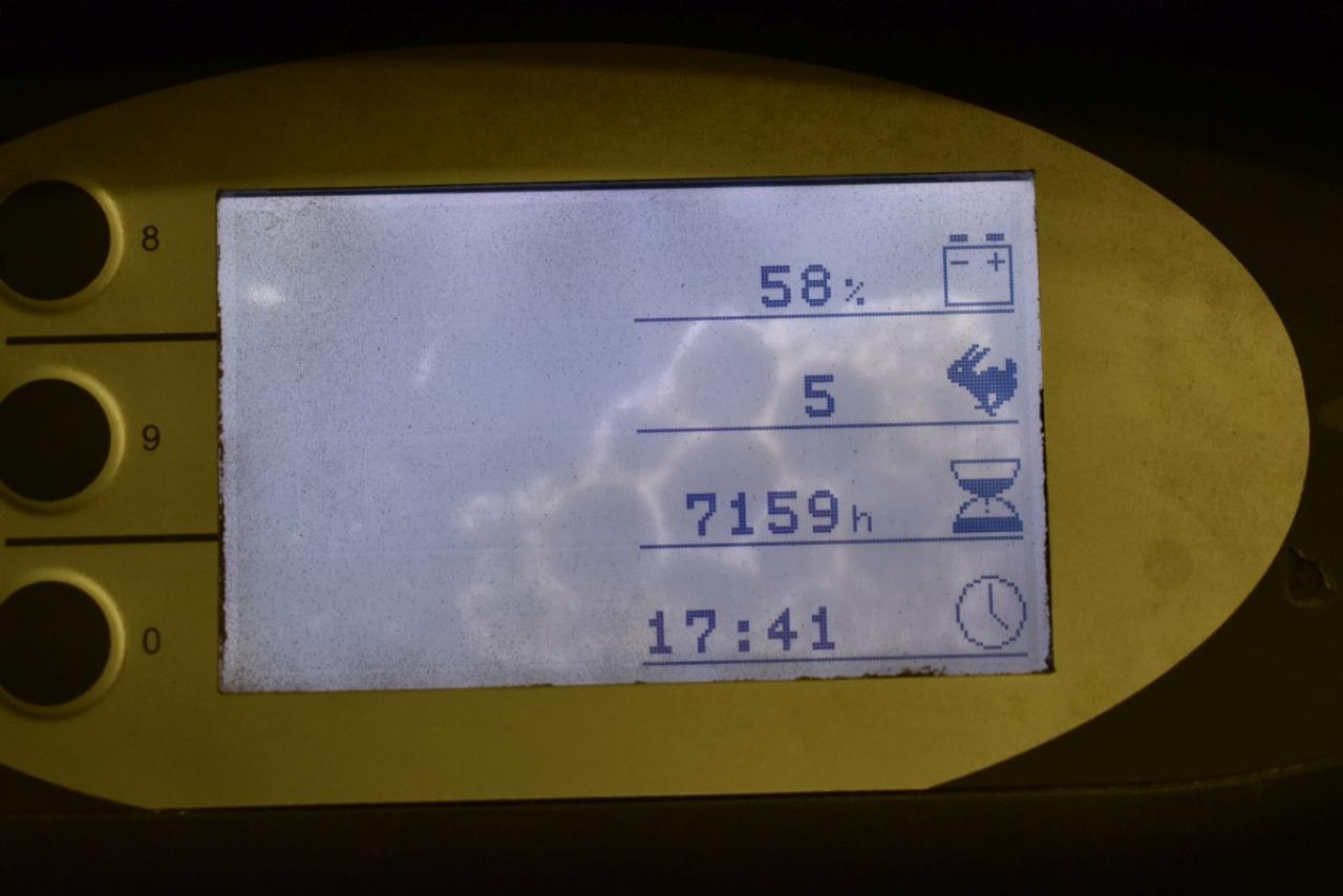 30687 STILL RX 20-15 - AKU, 2010, BP, volný zdvih, Triplex, pouze 7158 mth
