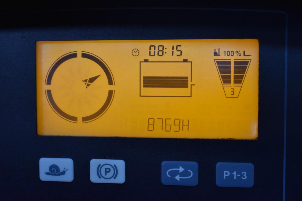 30709 JUNGHEINRICH ETV 214 - AKU, Retrak, 2011, BP, volný zdvih, Triplex