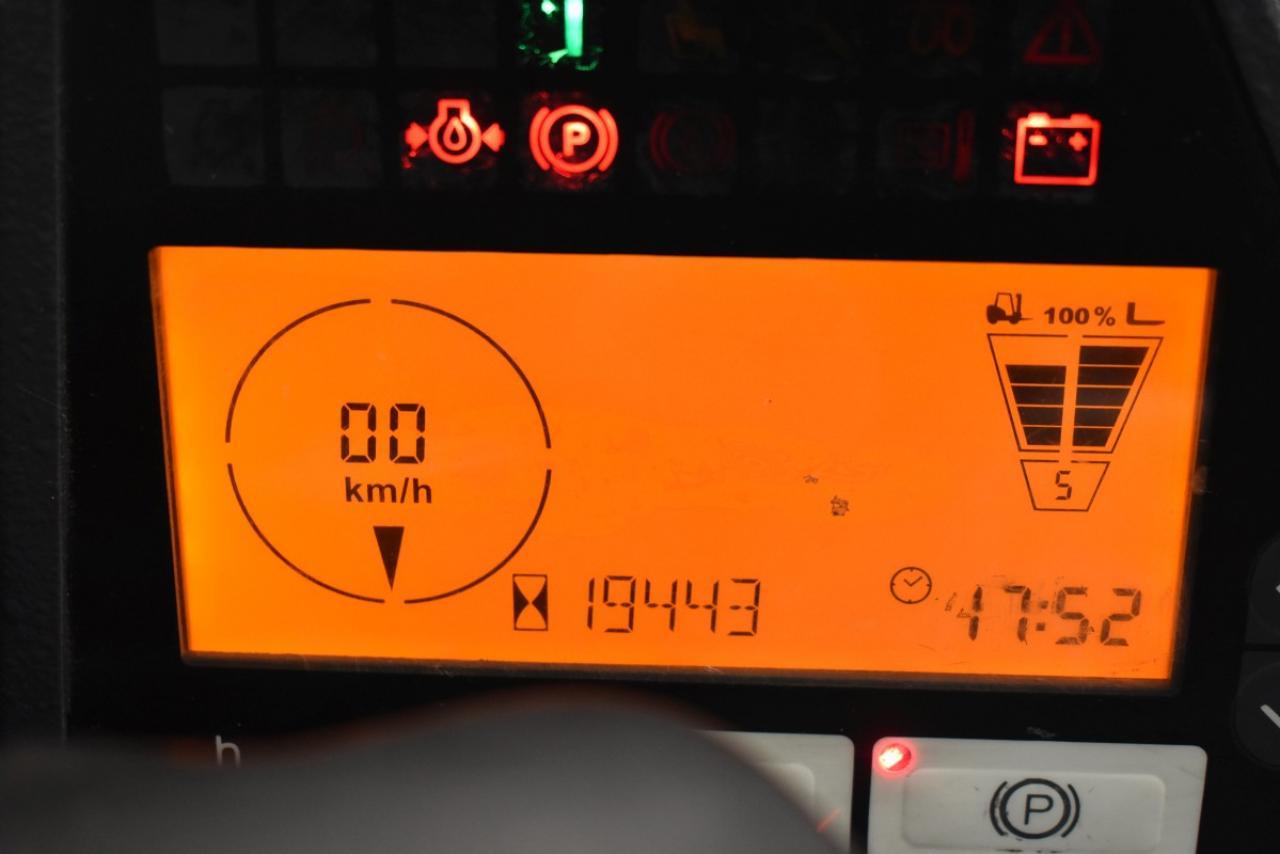 30744 JUNGHEINRICH TFG 435 S - LPG, 2014, polokabina, BP