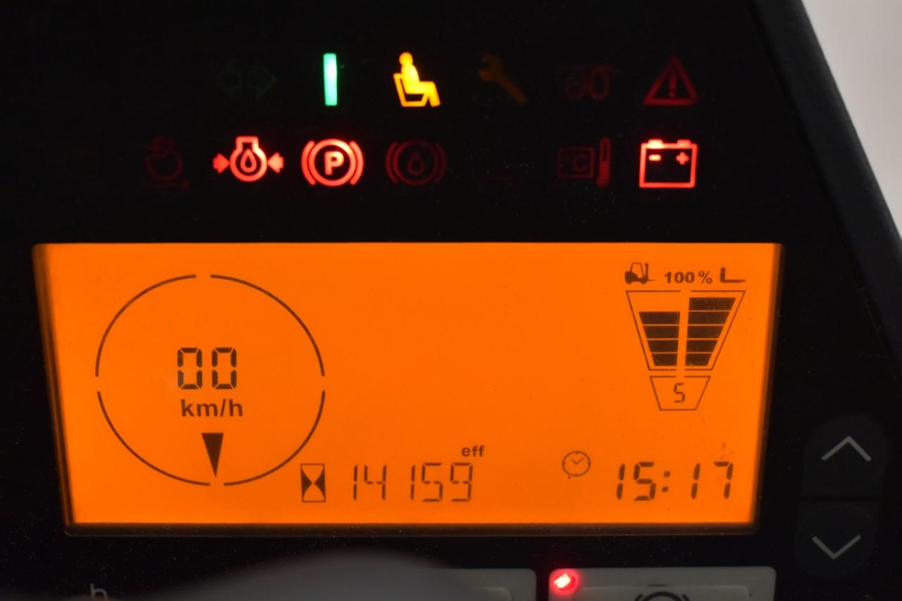 30754 JUNGHEINRICH TFG 435 S - LPG, 2014, polokabina, BP