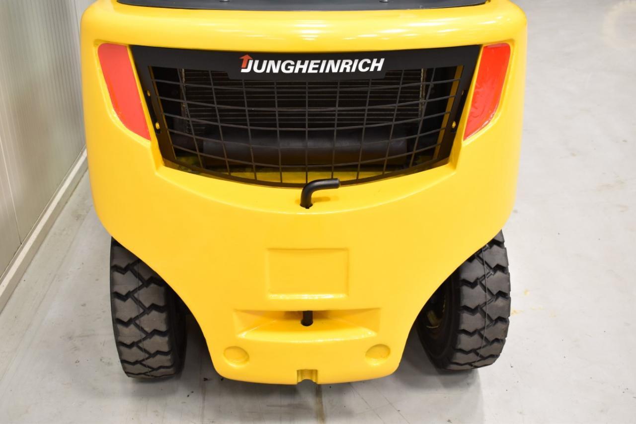 30756 JUNGHEINRICH DFG 430 S - Diesel, 2015, Kabina