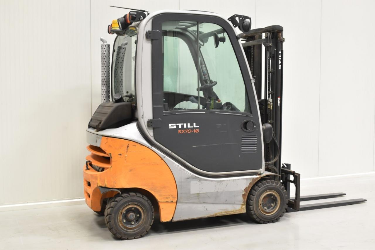 30779 STILL RX 70-16 - Diesel, 2012, Kabina, BP, volný zdvih, Triplex, pouze 2784 mth