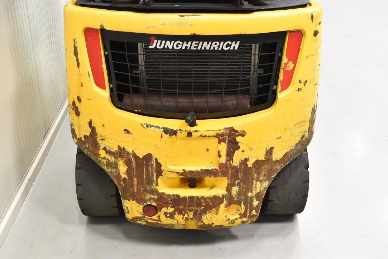 30840 JUNGHEINRICH TFG 320 S - LPG, 2012, BP, volný zdvih, Triplex, pouze 5270 mth