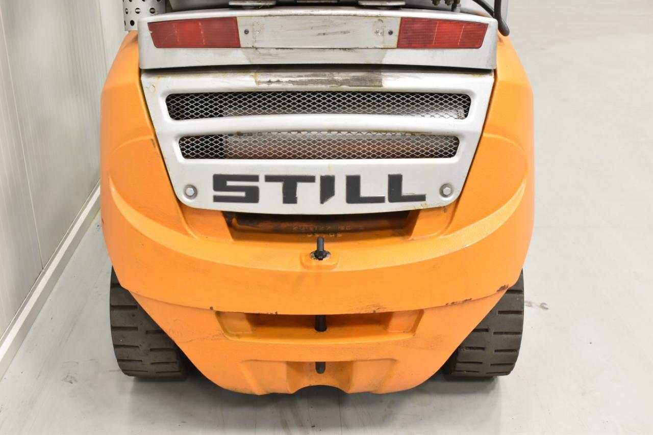 30900 STILL RX 70-22 T - LPG, 2009, polokabina, BP, volný zdvih, Triplex, pouze 4629 mth