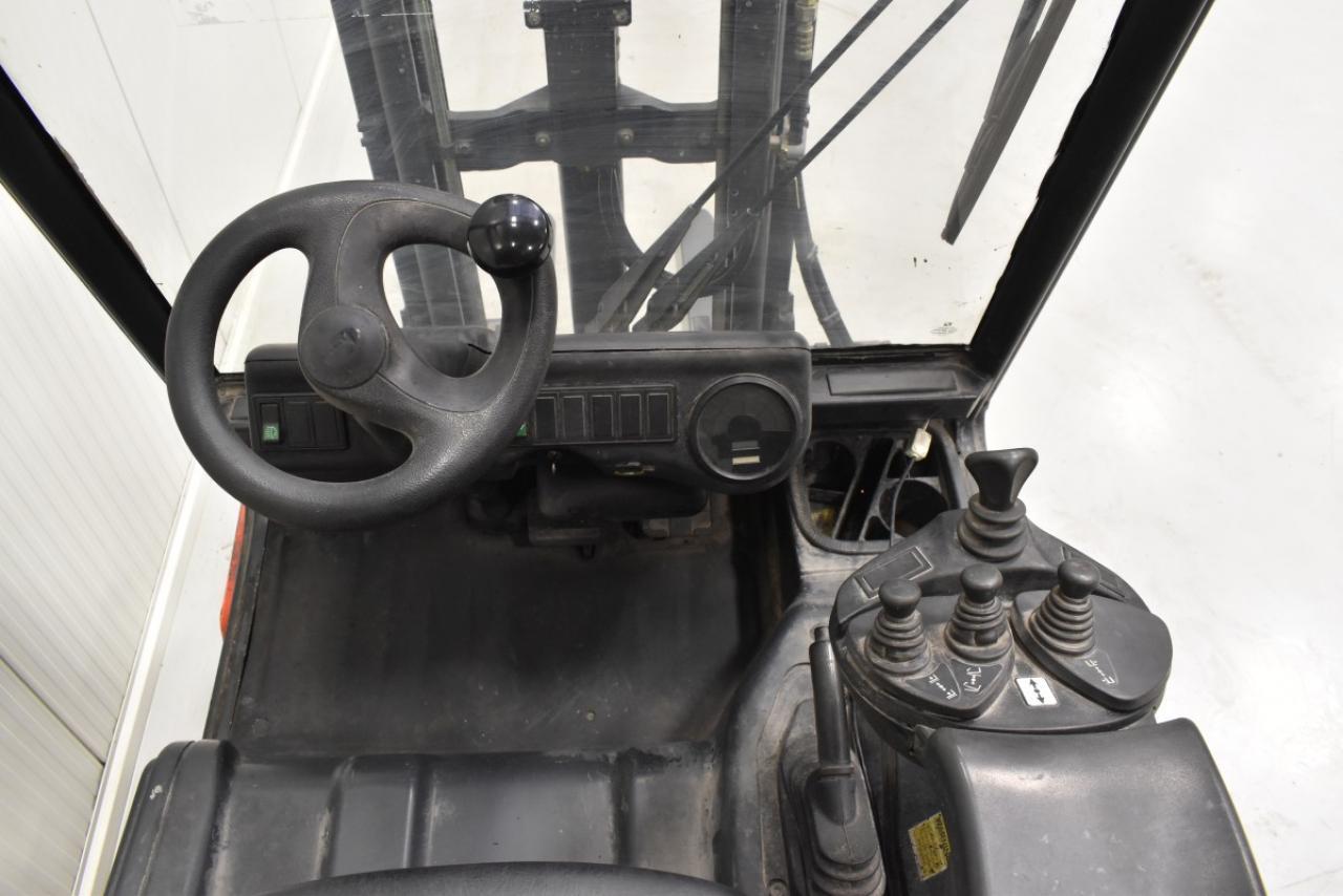30914 LINDE E 25/02 - AKU, 2007, BP, volný zdvih, pouze 3981 mth