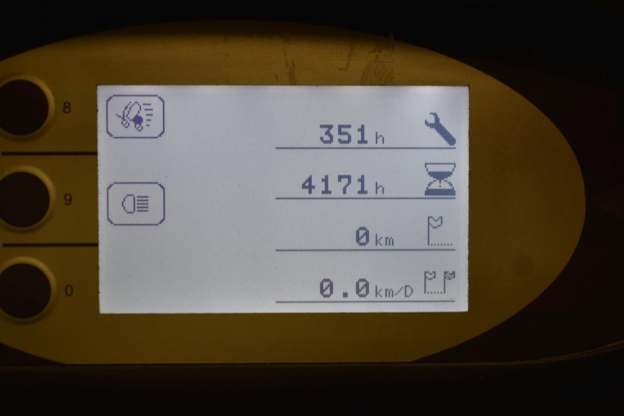 30956 STILL RX 20-16 - AKU, 2014, BP, volný zdvih, Triplex, pouze 4171 mth, BAT 2016