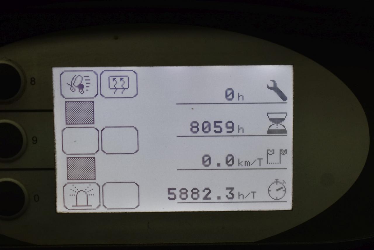 31040 STILL RX 60-50 - AKU, 2013, polokabina, BP, volný zdvih, Triplex, pouze 6477 mth