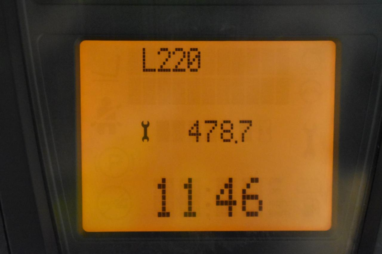 31184 LINDE H 25 T-01 - LPG, 2012, polokabina, BP, pouze 5821 mth