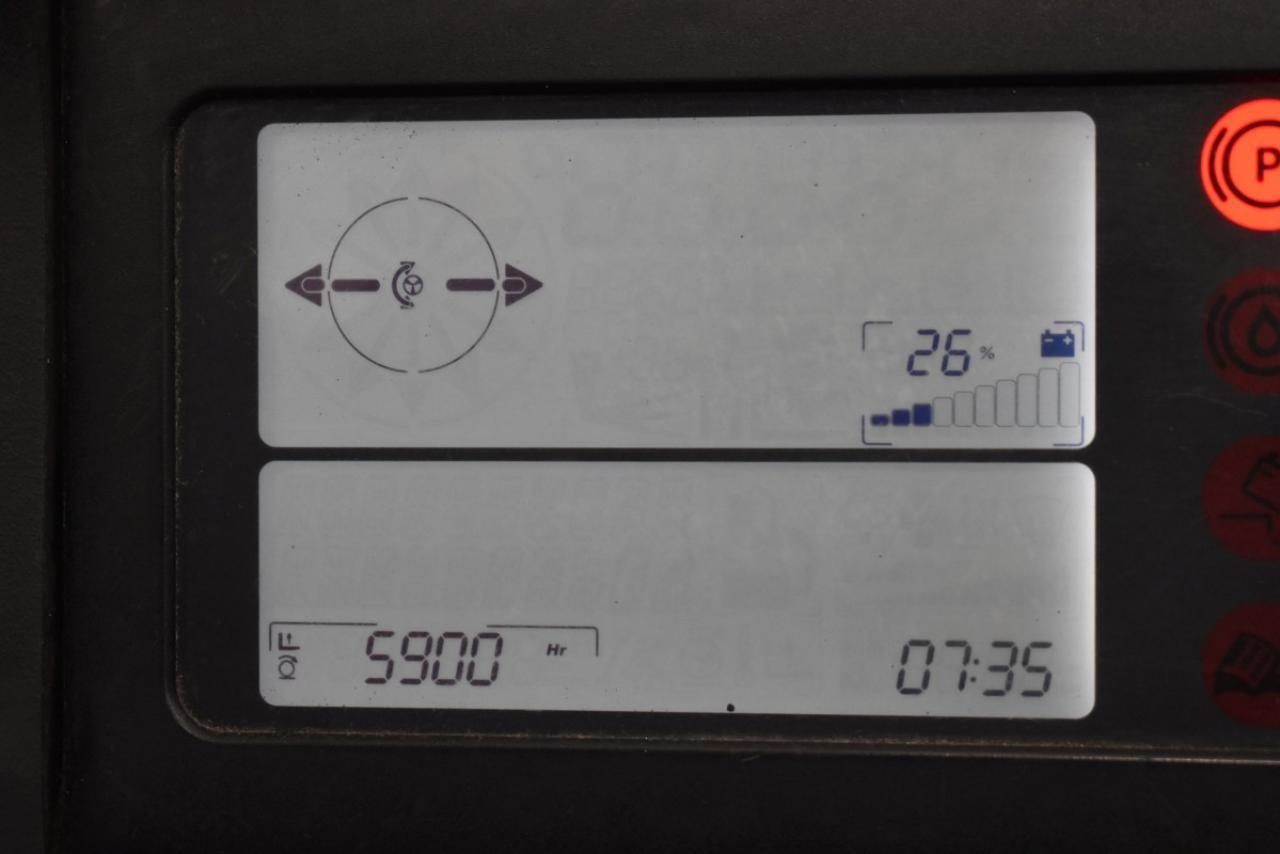 31189 LINDE R 16 S-12 - AKU, Retrak, 2012, BP, volný zdvih, Triplex, pouze 5900 mth
