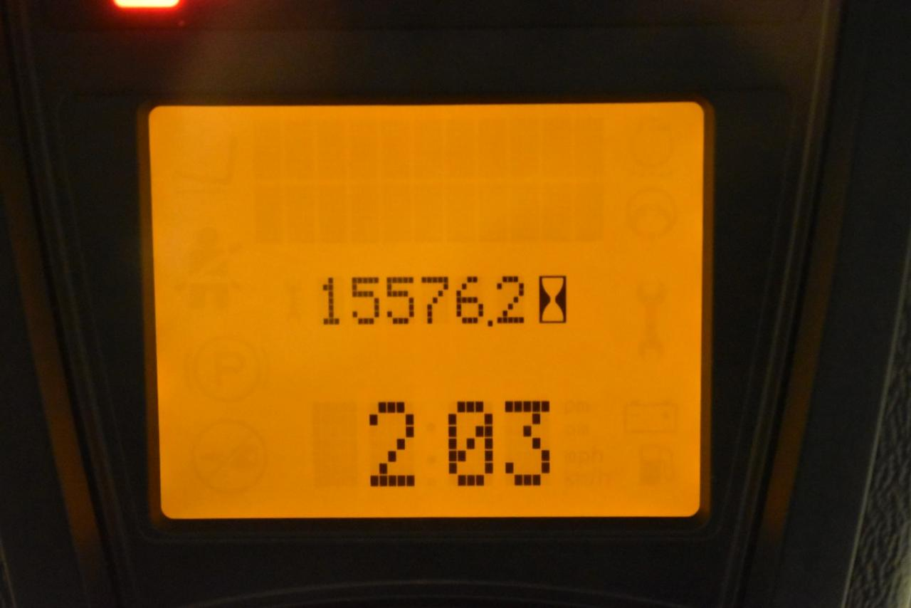 31239 LINDE H 60 T-02 - LPG, 2013, Kabina, Volný zdvih