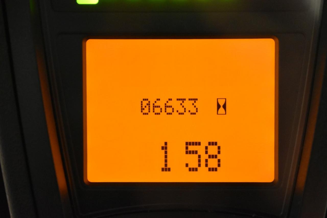 31249 LINDE E 16 P-01 - AKU, 2011, Kabina, BP, volný zdvih, Triplex, pouze 6632 mth