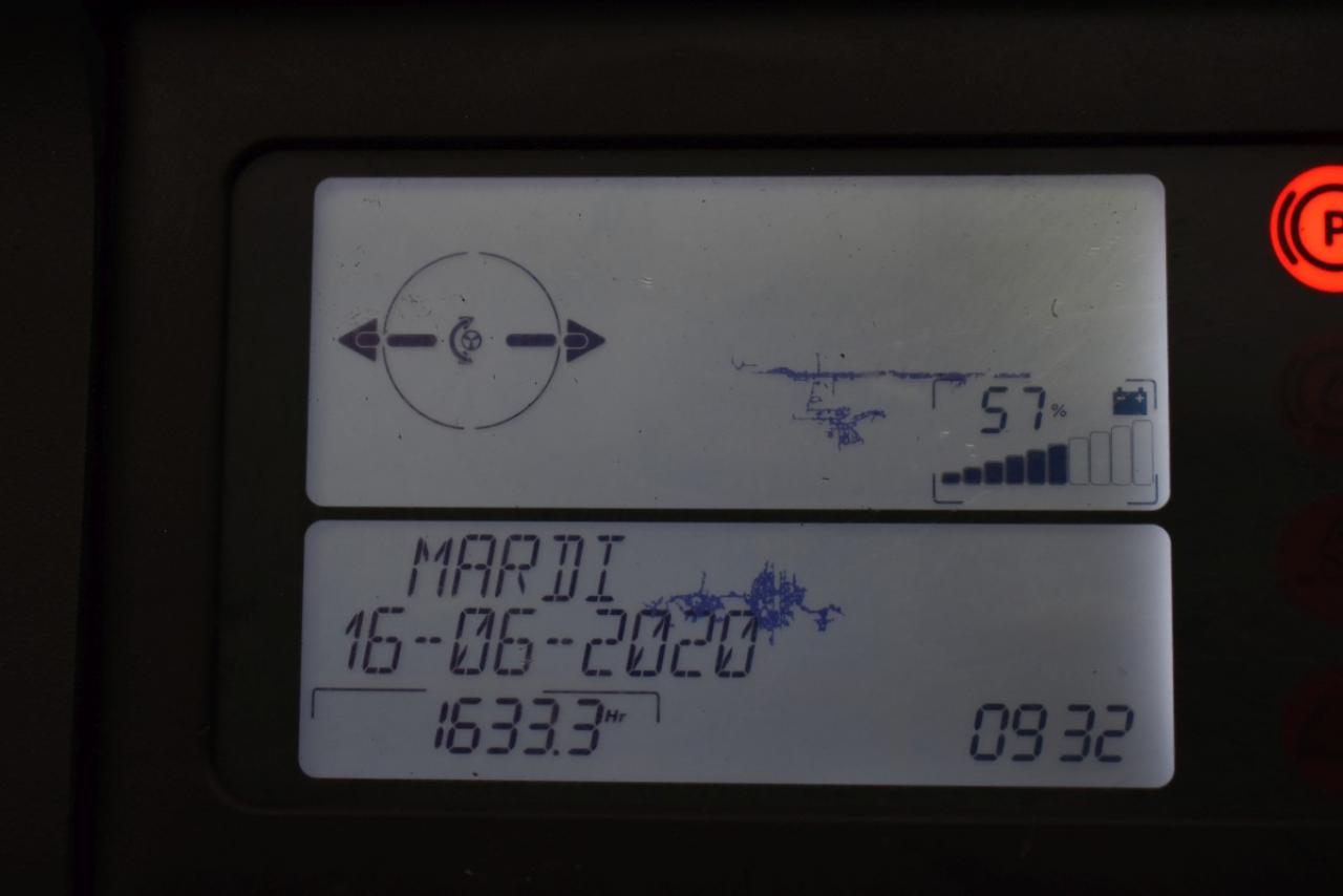 31250 LINDE R 14 S-12 - AKU, Retrak, 2014, BP, volný zdvih, Triplex, pouze 1633 mth