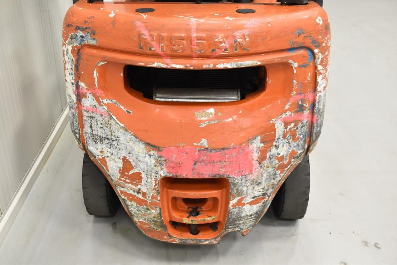 31267 NISSAN FD01A18Q - Diesel, 2002, BP, volný zdvih, Triplex