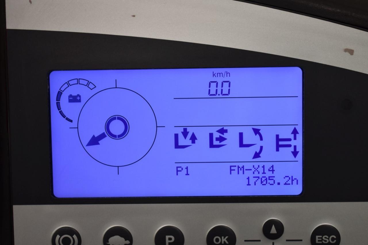 31274 STILL FM-X 14 - AKU, Retrak, 2014, BP, volný zdvih, Triplex, pouze 1705 mth