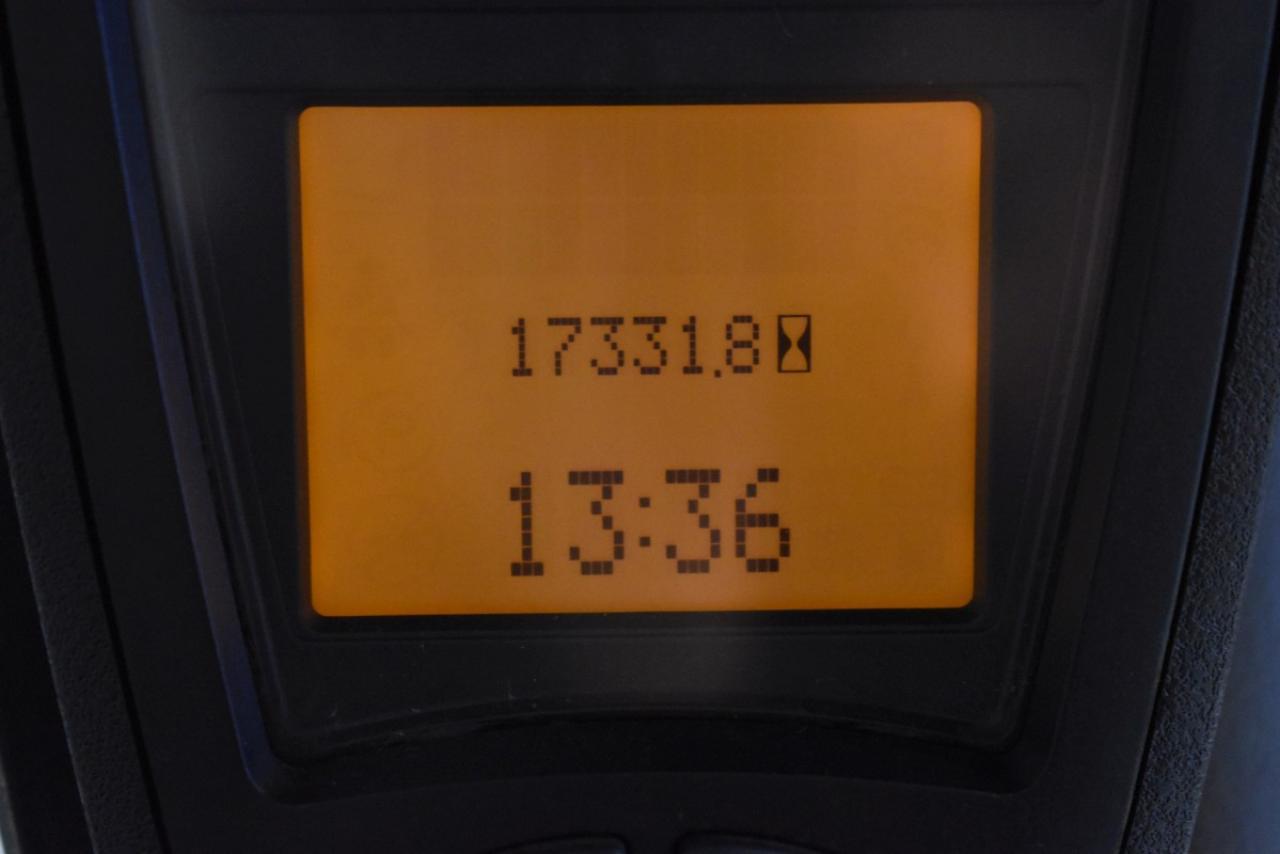 31314 LINDE H 25 D-01 - Diesel, 2012, BP, volný zdvih, Triplex
