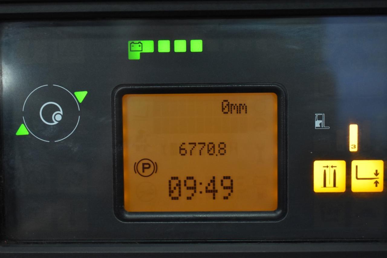 31319 LINDE R 14-01 - AKU, Retrak, 2014, BP, volný zdvih, Triplex, pouze 6770 mth