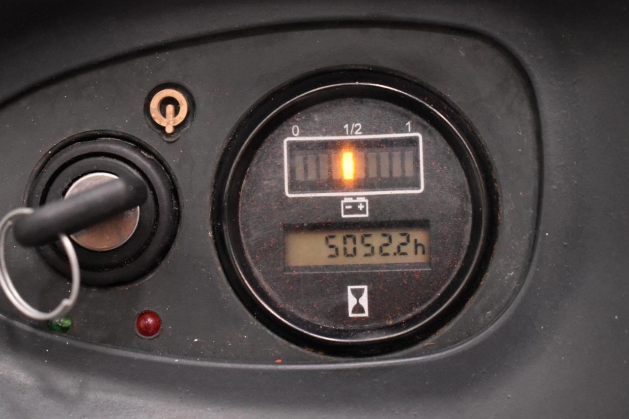 31338 LINDE L 16 - AKU, 2008, volný zdvih + přízdvih, Triplex, pouze 5051 mth