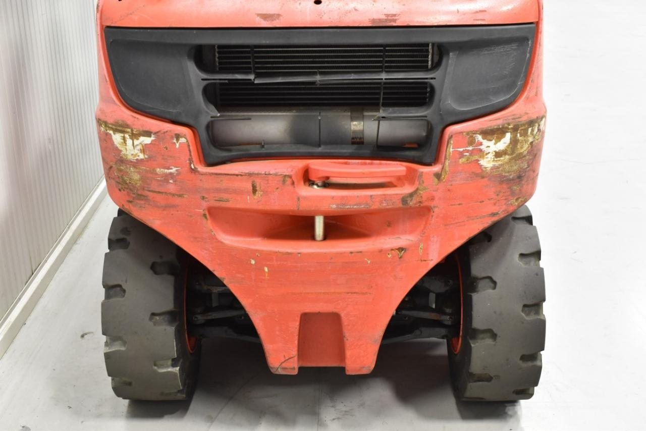 31350 LINDE H 25 T-02 - LPG, 2013, Kabina, BP, volný zdvih, Triplex