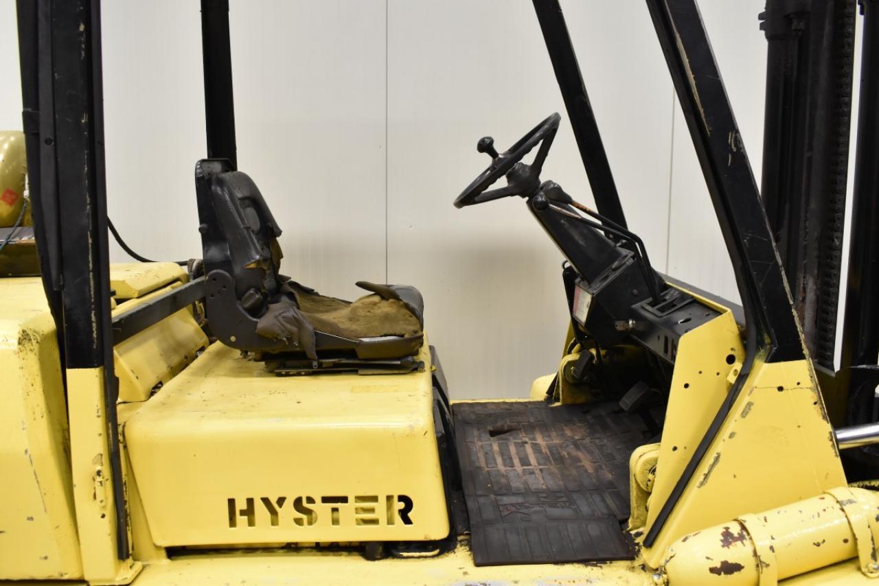 31355 HYSTER H 5.00 XL - LPG, 1991