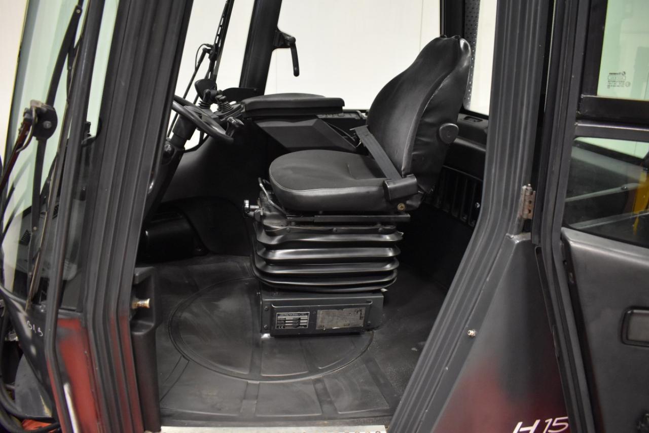31368 LINDE H 150 D - Diesel, 2006, Kabina, BP+HSV,  ZADÁNO