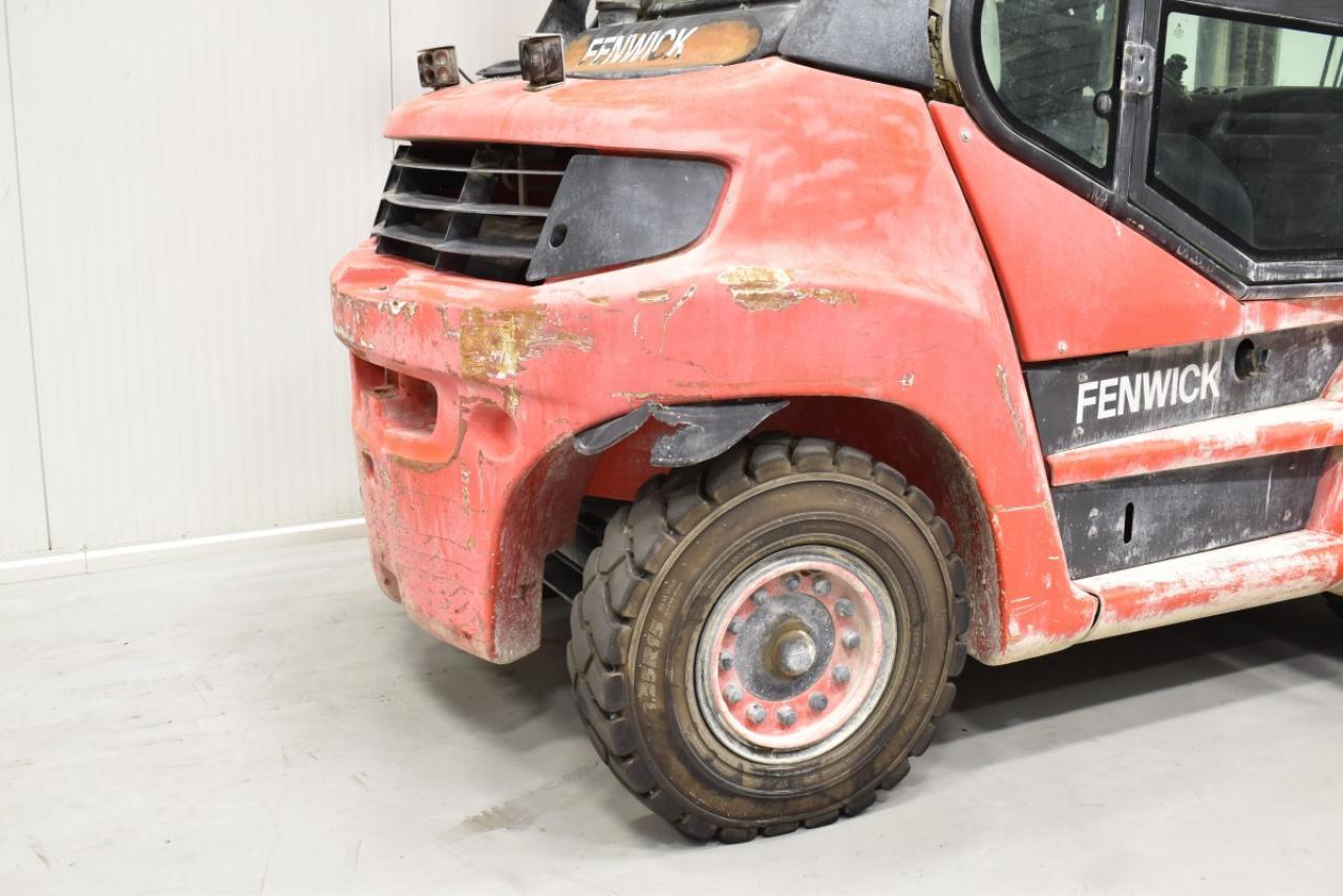 31423 LINDE H 70 D-01 - Diesel, 2012, Kabina, BP+HSV, pouze 4231 mth