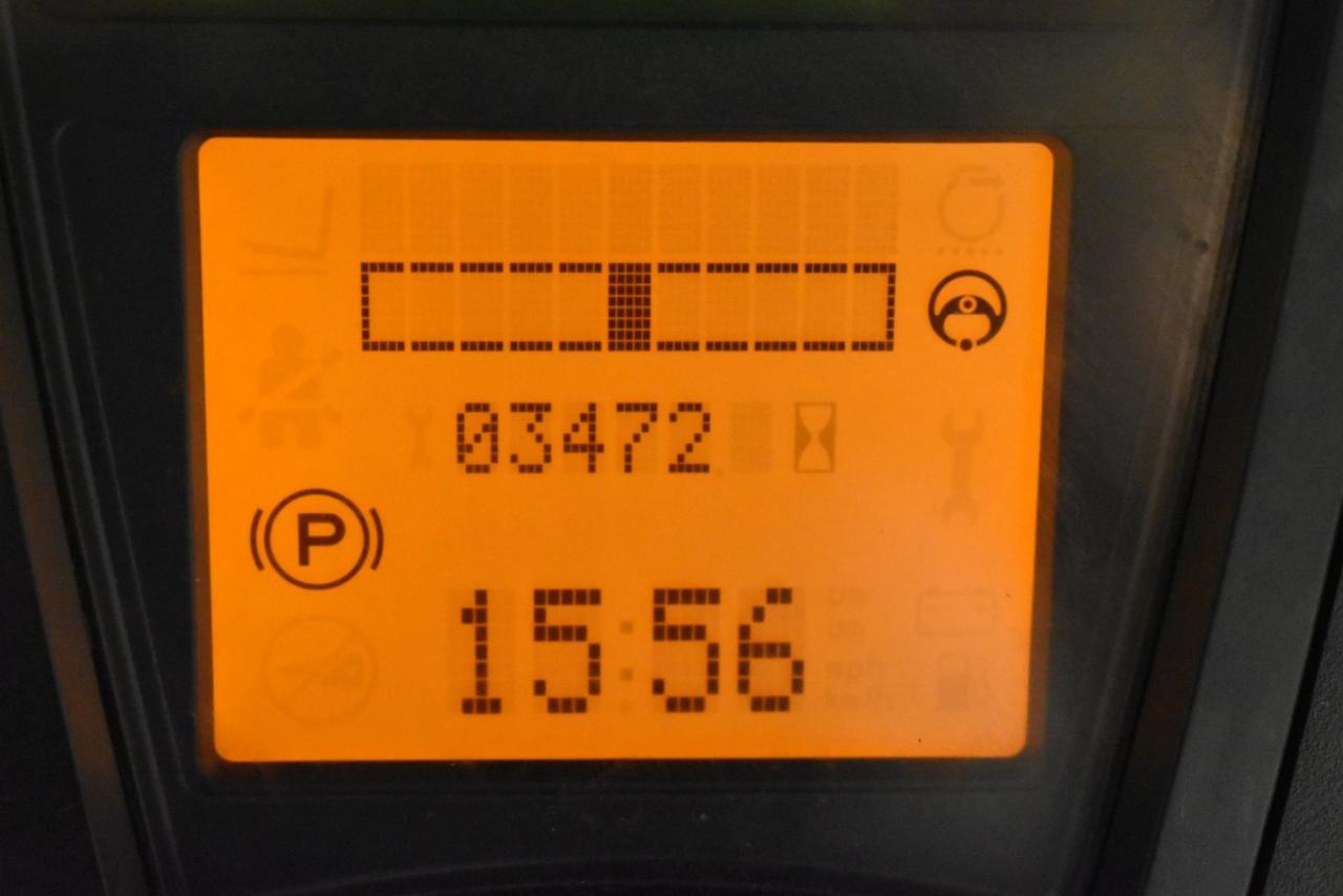 31425 LINDE E 25-01 - AKU, 2012, polokabina, BP+HSV, volný zdvih, Triplex, pouze 3472 mth