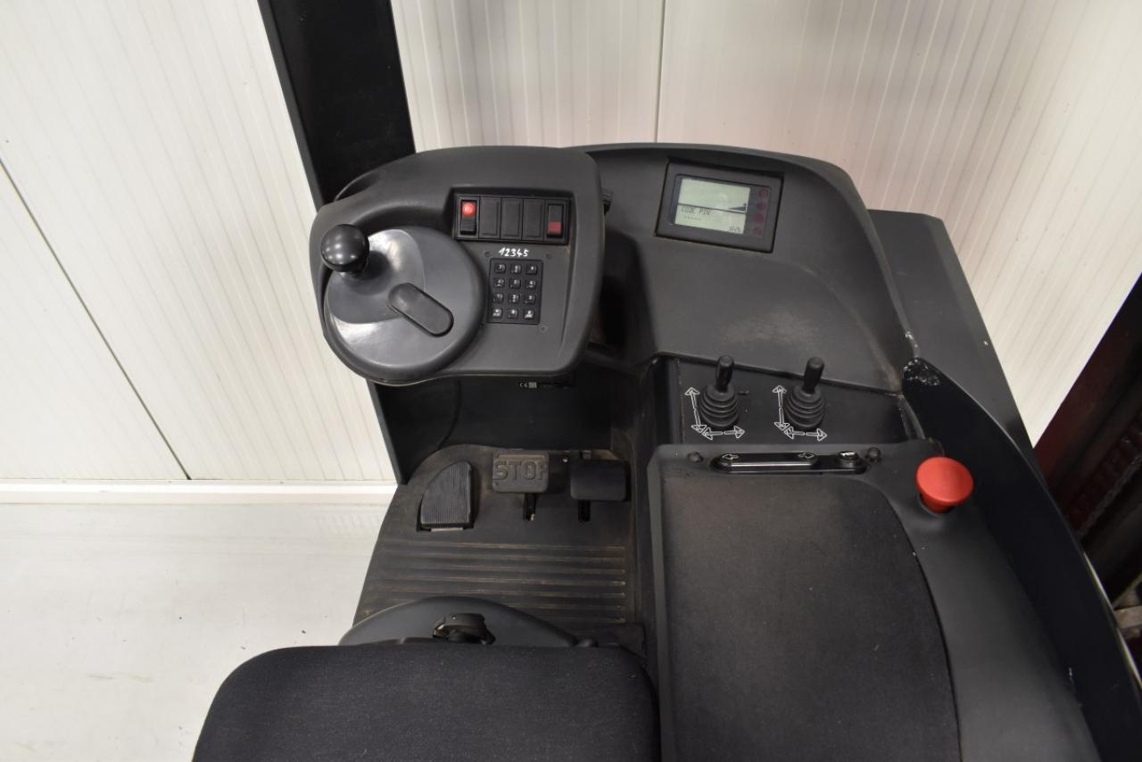 31430 LINDE R 16 SHD-12 - AKU, Retrak, 2014, BP, volný zdvih, Triplex