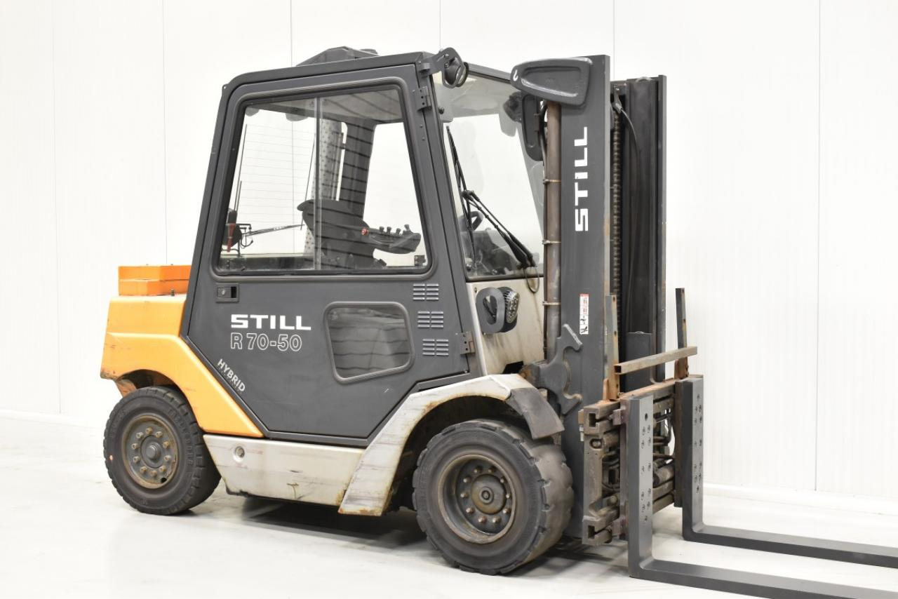 31449 STILL R 70-50 - Diesel, 2012, Kabina, BP+HSV, pouze 8404 mth