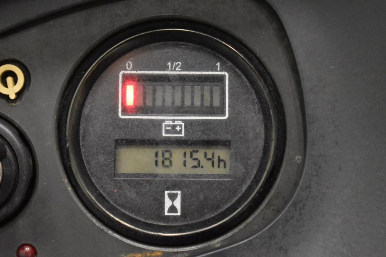 31474 LINDE L 14 - AKU, 2007, volný zdvih + přízdvih, Triplex, pouze 1815 mth