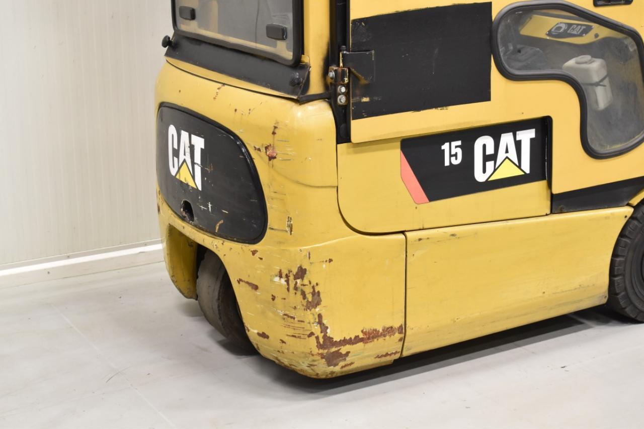 31521 CATERPILLAR EP 15 KRT - AKU, 2010, Kabina, BP