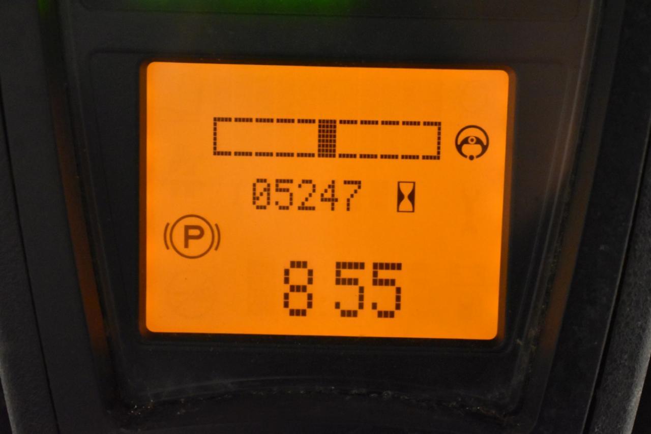 31553 LINDE E 15-02 - AKU, 2014, BP+HSV, Volný zdvih, Triplex, pouze 5246 mth