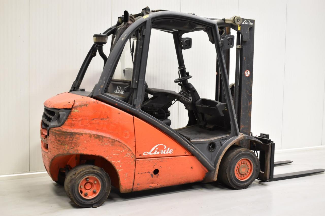 31580 LINDE H 35 D  - Diesel, 2007, BP, volný zdvih