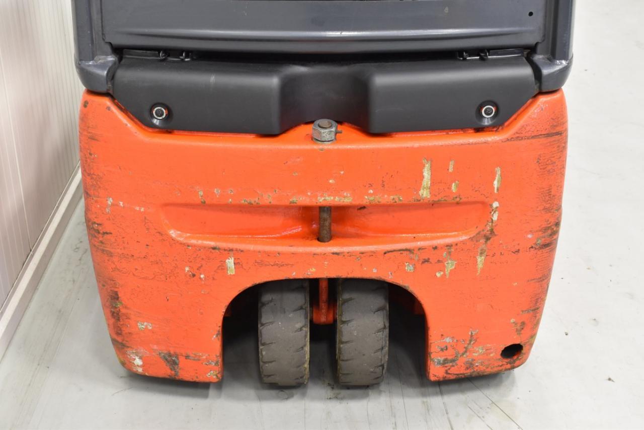 31593 LINDE E 16 C-01 - AKU, 2009, BP, volný zdvih, Triplex