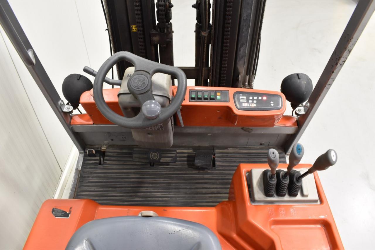 31625 BT C4E 250V - AKU, 2007, BP, volný zdvih, Triplex
