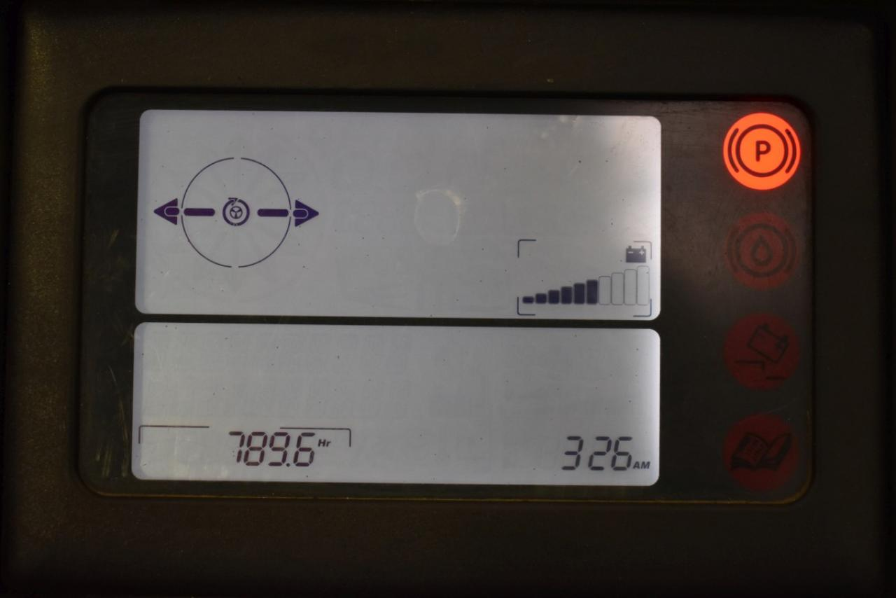 31645 LINDE R 16 SHD-12 - AKU, Retrak, 2012, BP, volný zdvih, Triplex, pouze 789 mth