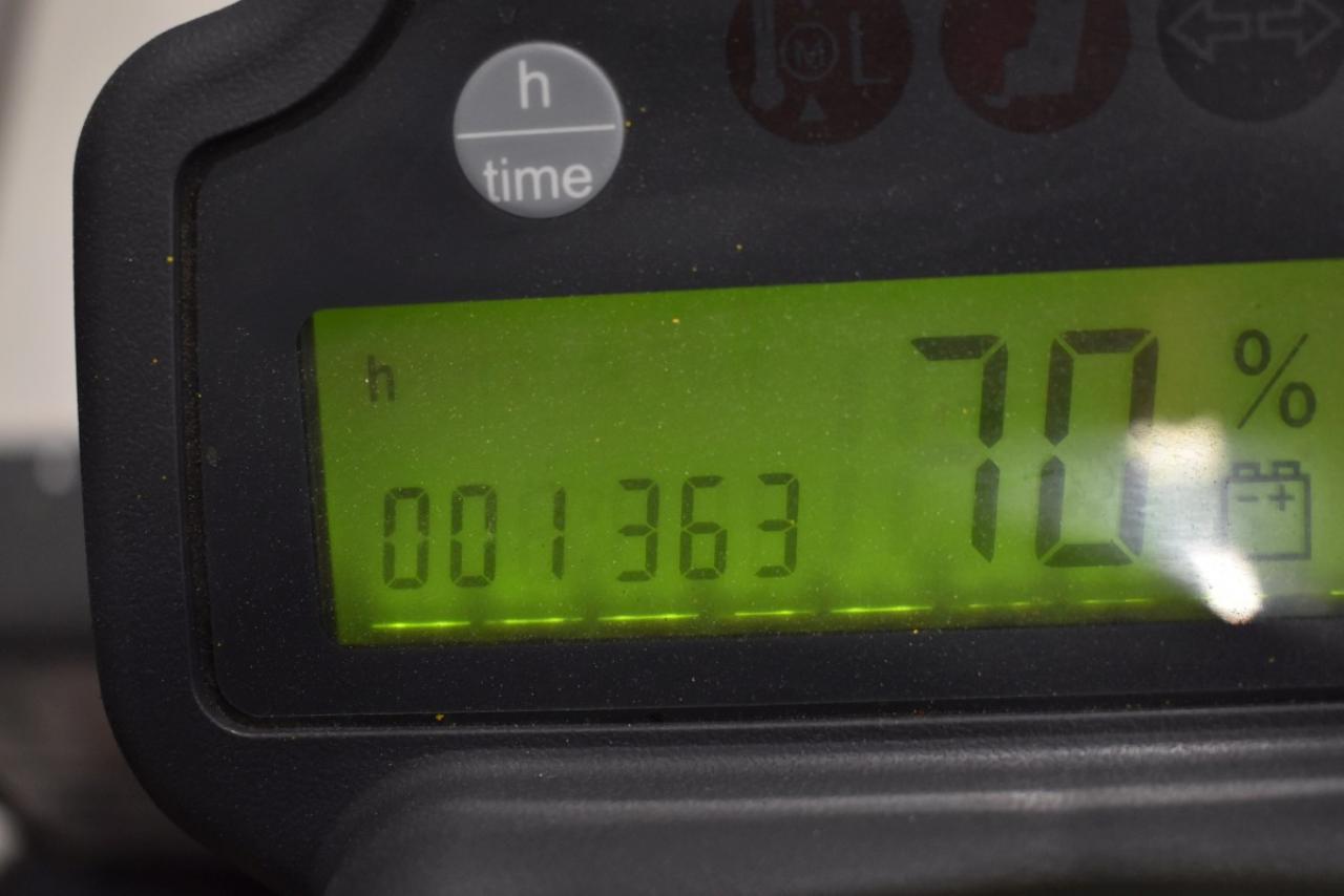 31743 JUNGHEINRICH EFG 110 K - AKU, 2014, BP, pouze 1363 mth