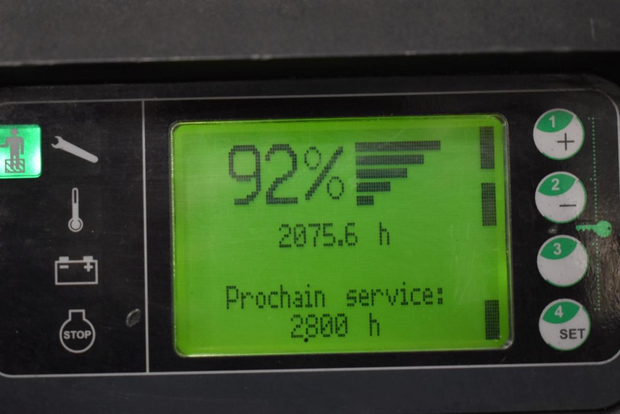 31821 LINDE V 08 - AKU, 2012, pouze 2075 mth