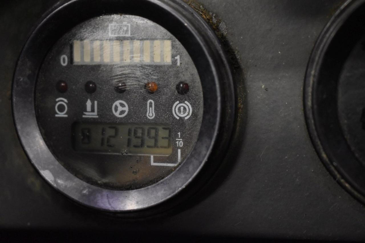 31844 LINDE R 16 N - AKU, Retrak, 1997, BP, Drive-in, volný zdvih, Triplex