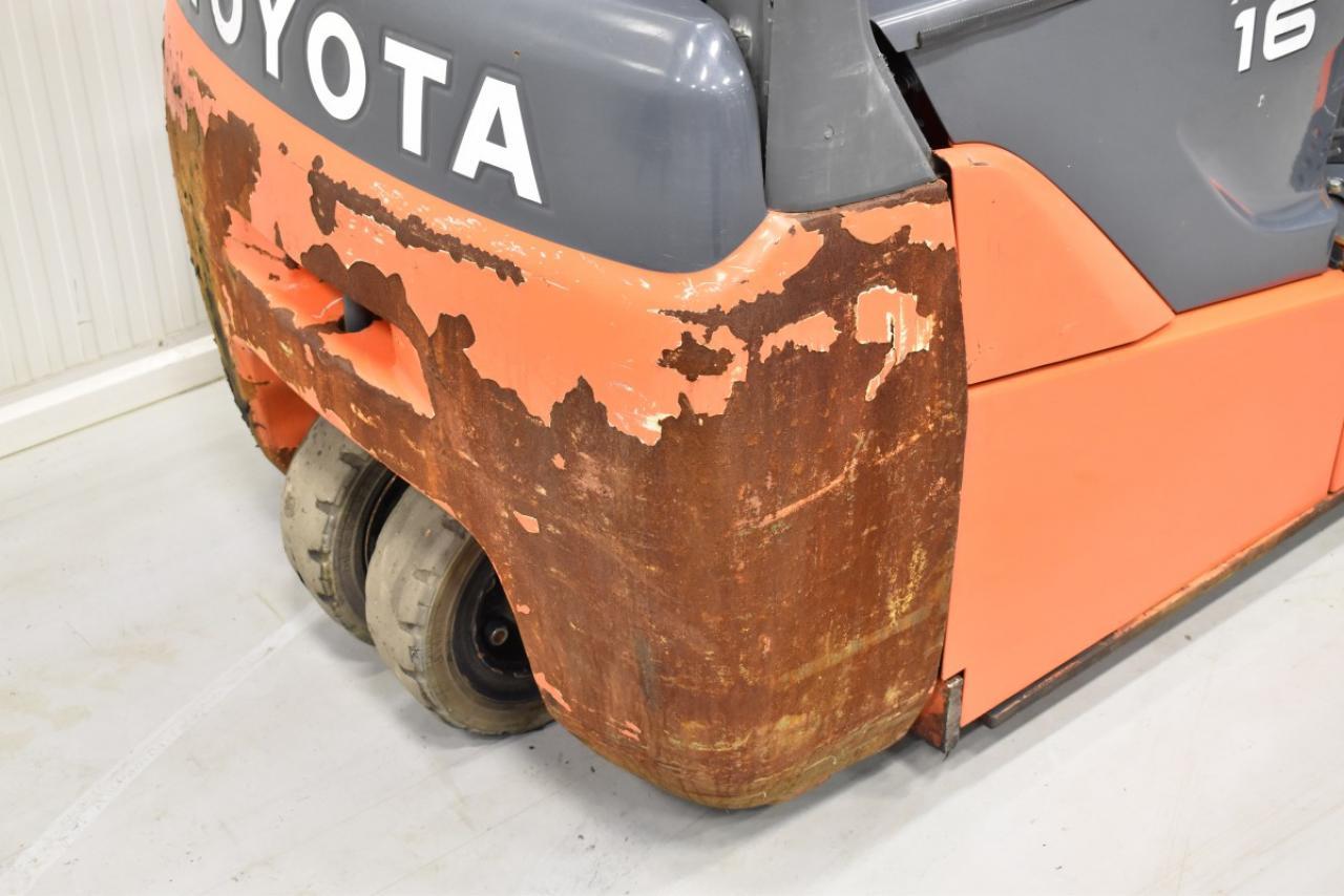 31898 TOYOTA 8FBEKT16 - AKU, 2013, BP, Drive-in, Volný zdvih, Triplex