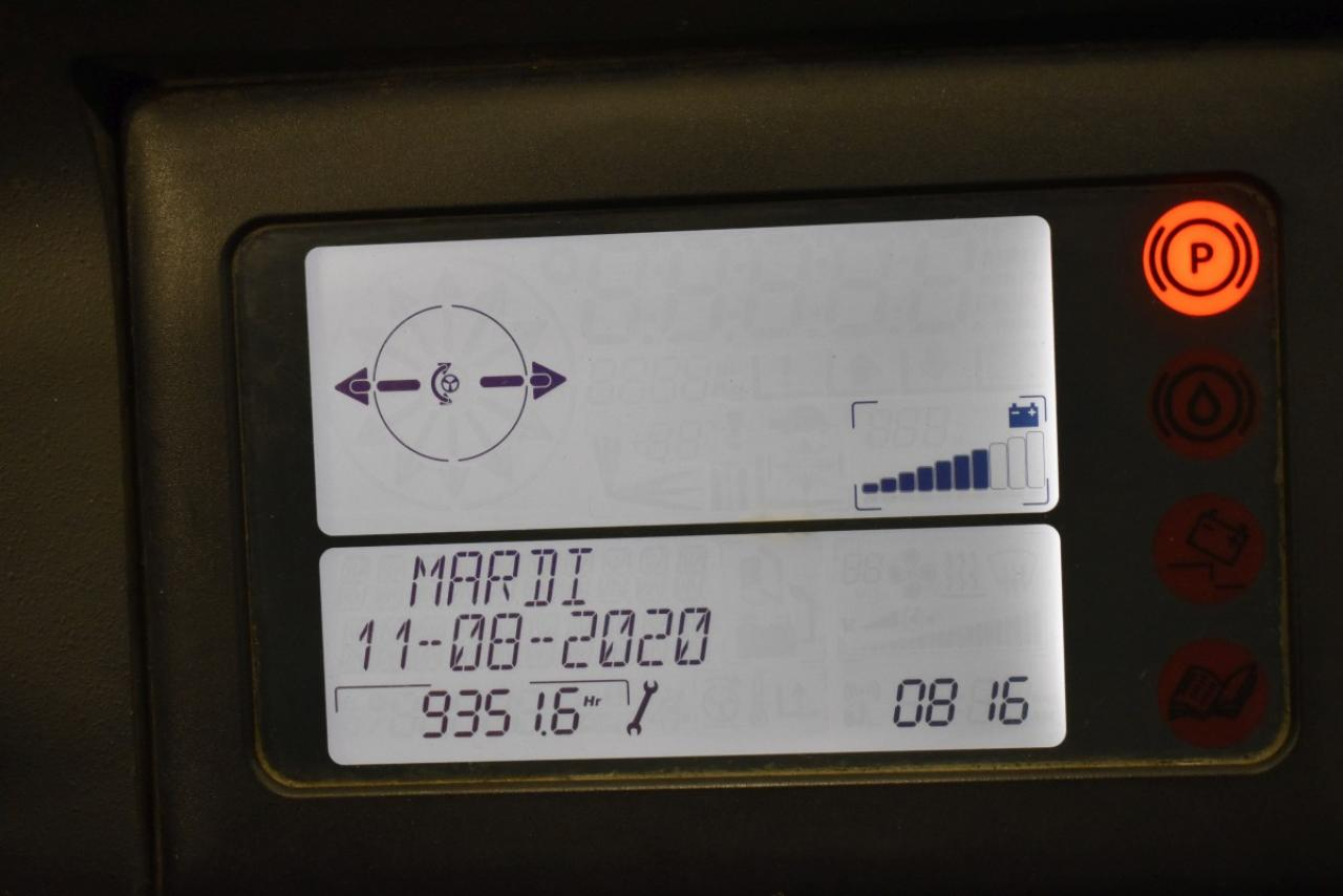 31970 LINDE R 16 SHD-12 - AKU, Retrak, 2014, BP, volný zdvih, Triplex