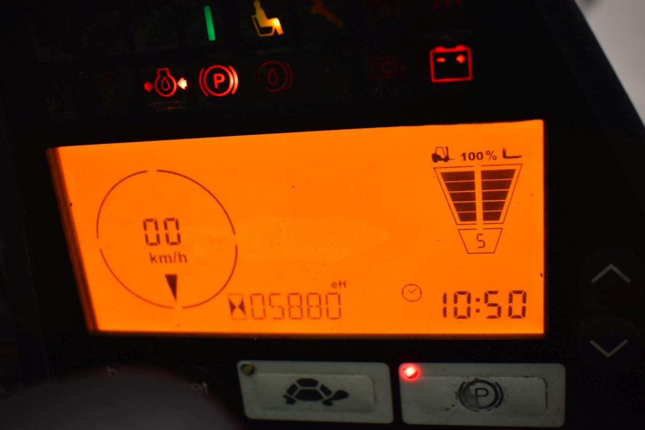 32022 JUNGHEINRICH TFG 320 S - LPG, 2014, Kabina, BP, volný zdvih, pouze 5826 mth