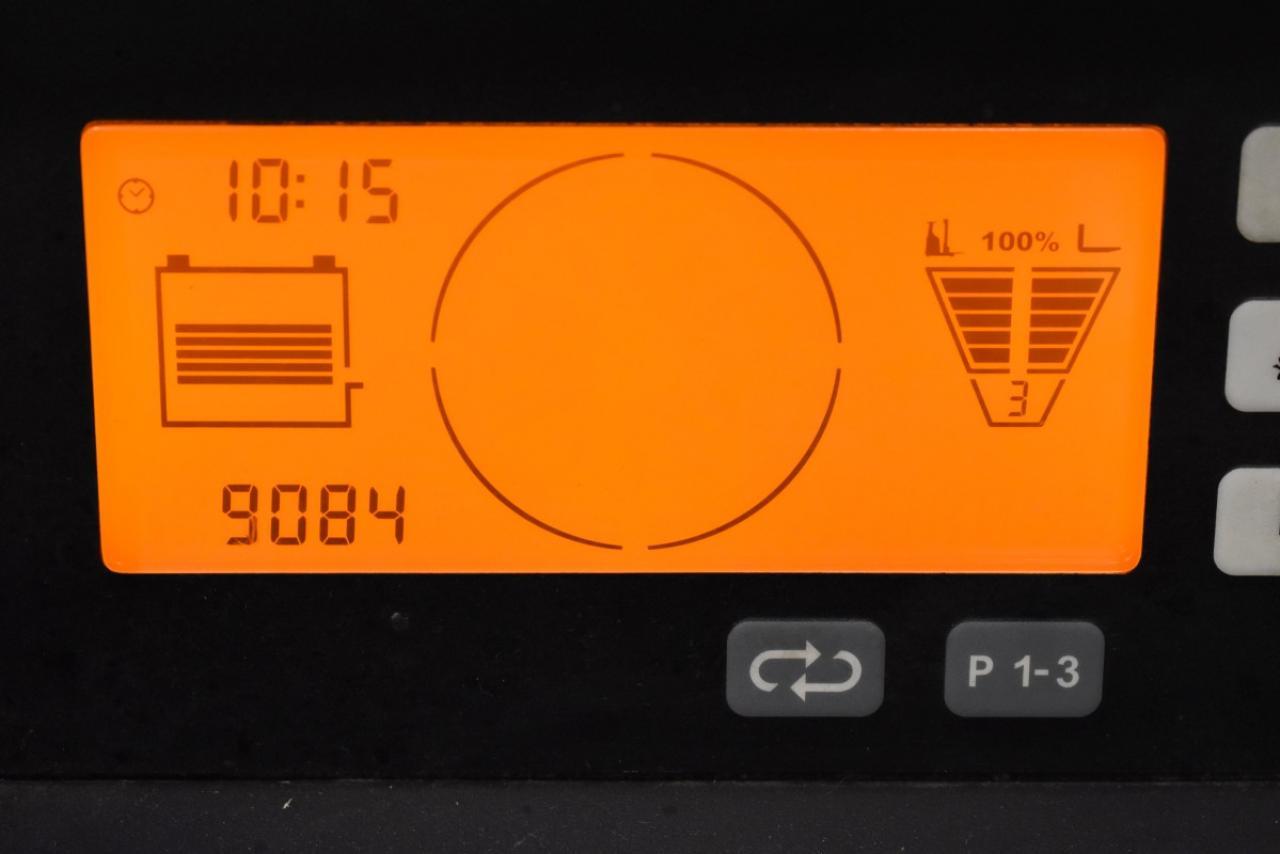 32136 JUNGHEINRICH ETV 214 - AKU, Retrak, 2015, BP, volný zdvih, Triplex