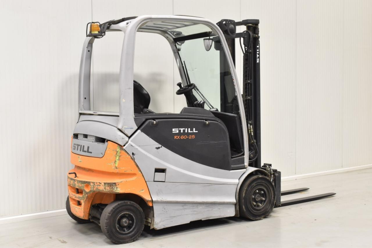 32215 STILL RX 60-25 - Battery, 2009, SS, Free lift, BATT 2014